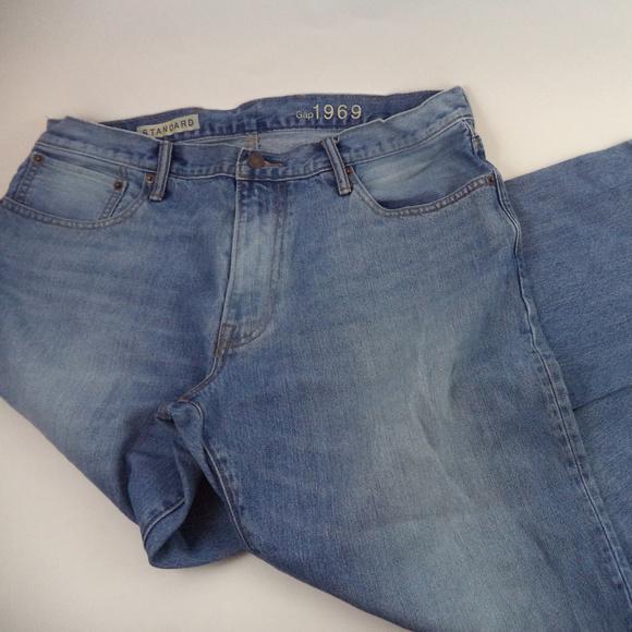 GAP Other - Gap Men's Straight Blue Jeans 36x28 CL1226 0719
